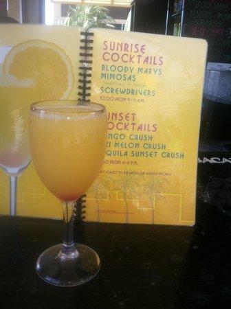 Oceanaire Resort Hotel : Breakfast Drinks