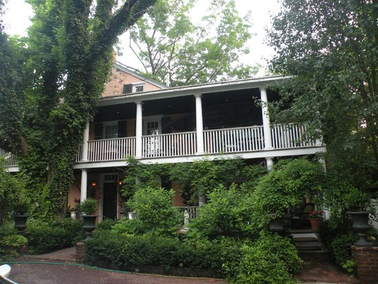 Porches on the Towpath: Front of Porches