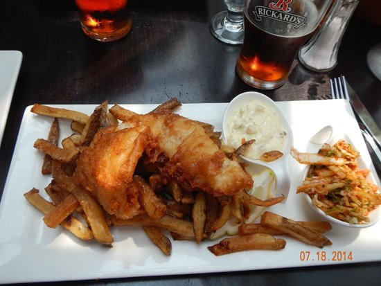 Muse: fish and chips