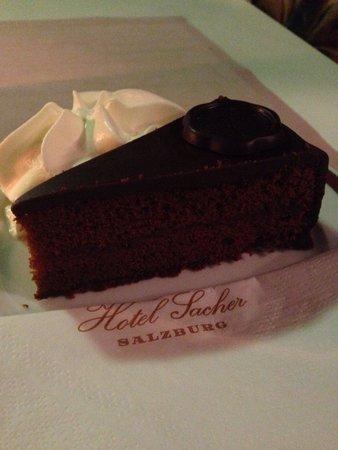 Café Sacher Salzburg: Sacher torte