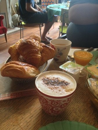 Le Domaine du Meunier : Breakfast is yummy and home made