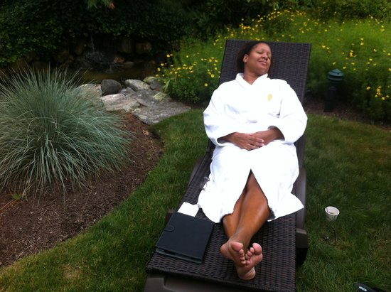 The Spa at Norwich Inn: Summer at the spa