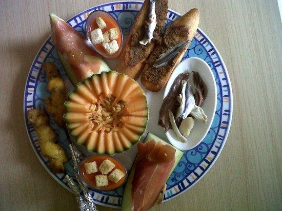 Residence Le Village des Aloes: l'assiette catalane
