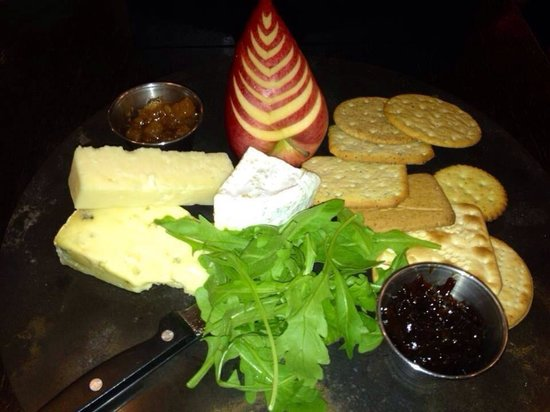 Verve: Cheeseboard great for sharing with wine in the sun