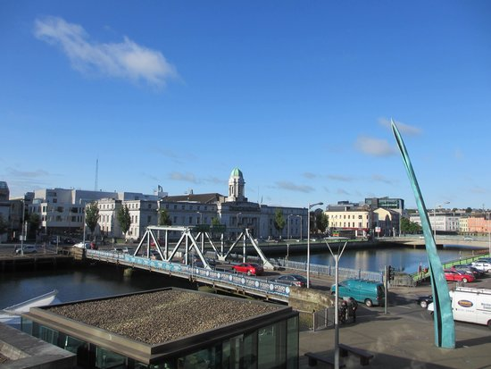 Clayton Hotel Cork City: View from our room