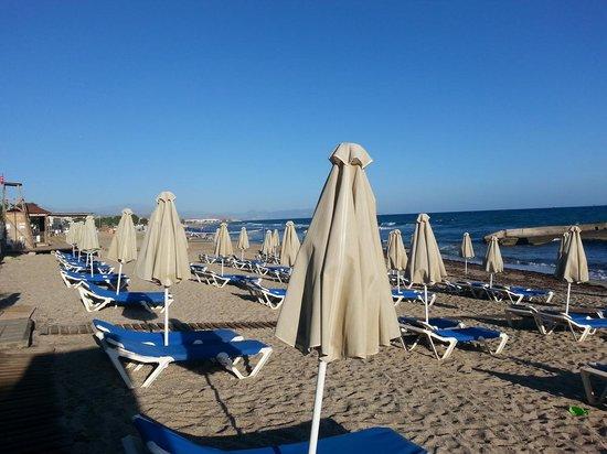 SunConnect Zorbas Village : Plaża przy hotelu