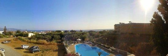 Hotel Albatros: Parvekeelta