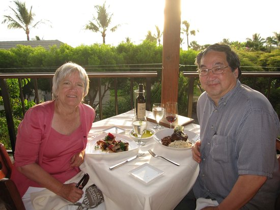 The Restaurant at Hotel Wailea: View from the Lanai