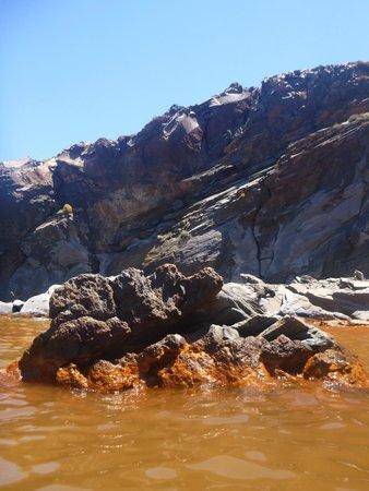 Santorini Volcano: Hot springs