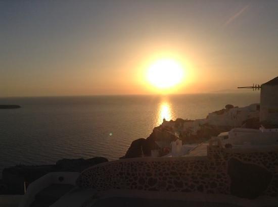 Sunset in Oia: sunset