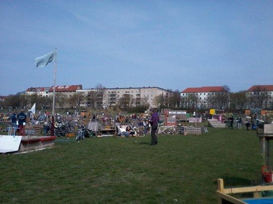 Tempelhofer Park - Horta Comunitária