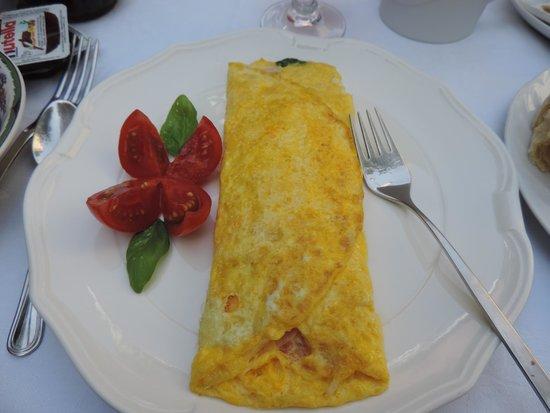 Il Giardino Incantato Bed and Breakfast : Omlette to Order