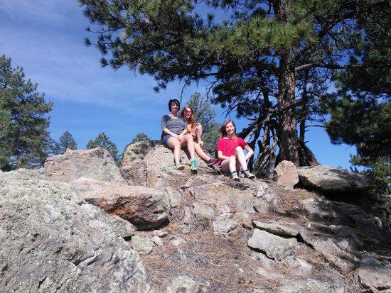 South Fork, Kolorado: The beautiful back yard