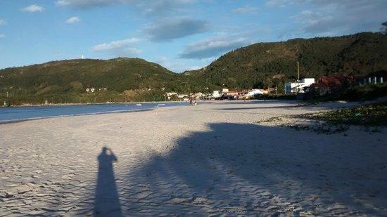 Pousada Mar do Leste: Praia a 100m, Barra da Lagoa