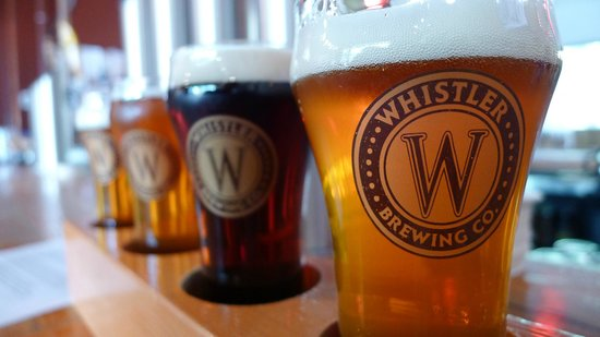 Whistler Brewing Company: Yay beer!