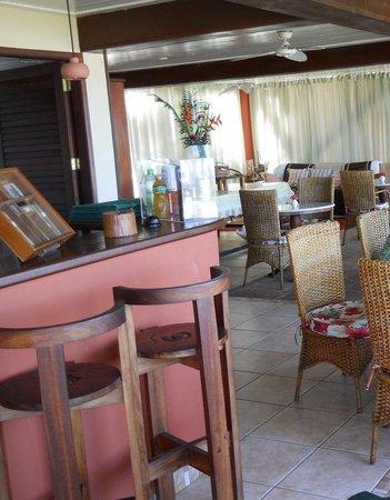 Hotel Porto do Zimbo: O restaurante (foto diurna)