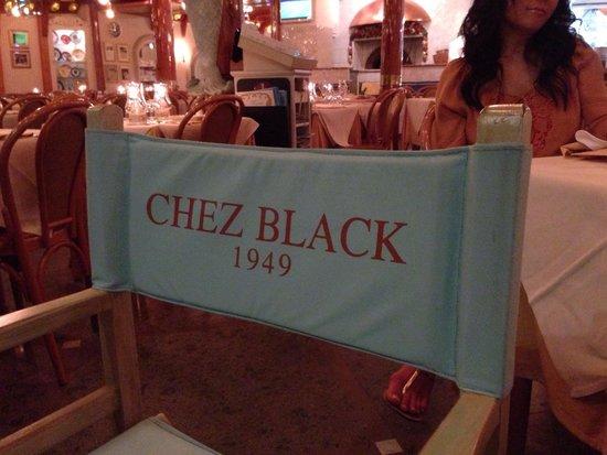 CHEZ BLACK: Beh un'istituzione a Positano!