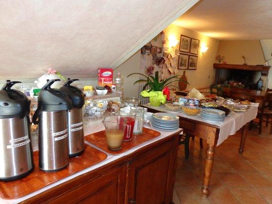 B&B Ponte a Nappo: Breakfast Buffet