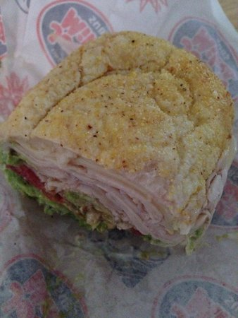 Jersey Mike's Subs: Cheers to Tyler, for making my sandwich! Thank you! Jeanette 7-21-14