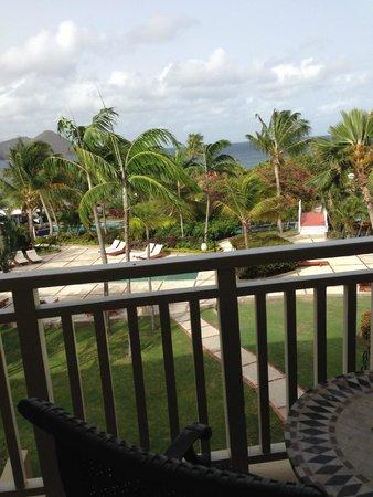 Sandals Grande St. Lucian Spa & Beach Resort: Beach View