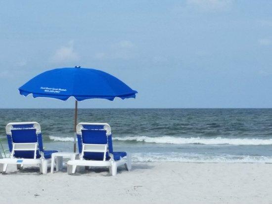 Hampton Inn Jacksonville Beach/Oceanfront : hotel beach