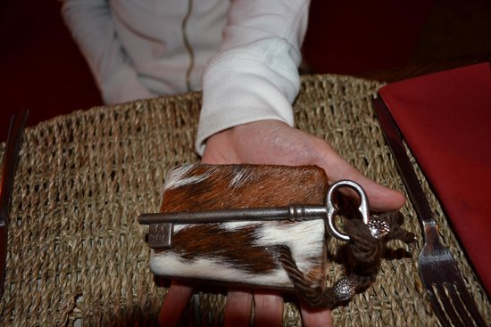 Arrucador Boutique Lodge: le chiavi delle camere