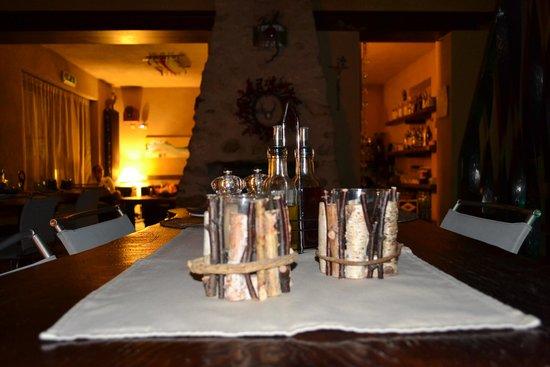 Arrucador Boutique Lodge: particolare tavola