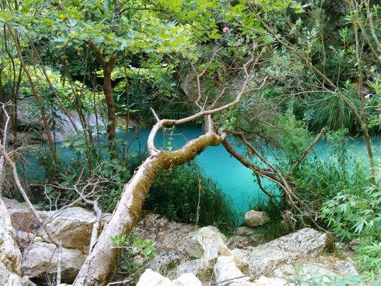 Polylimnio Waterfall: Un coin de paradis