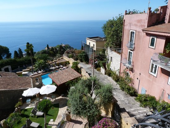 Hotel Villa Carlotta : The stunning view from Room 206