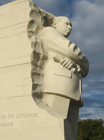 Martin Luther King, Jr. Memorial: From the rock!