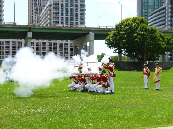 Fort York National Historic Site: Fire