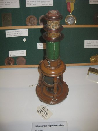 Federal Pathologic-Anatomical Museum: One of the first microscopes