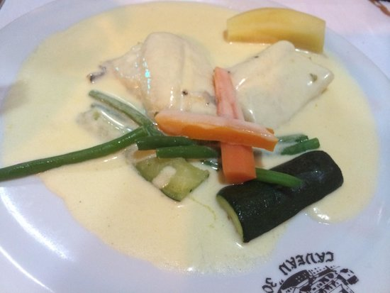Le Caveau 30 : 奶油醬配魚