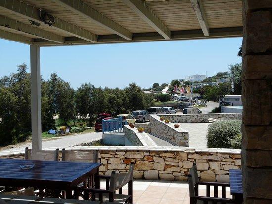 Acquamarina Resort: terrasse du restaurant