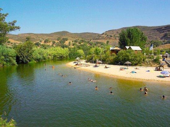 Los Molinos: Playa fluvial Alcoutim