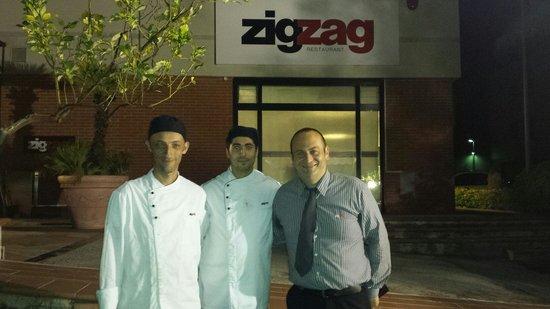 Zig Zag: Thank you Mario, Francesco and Gerardo for a great evening and delicious food.