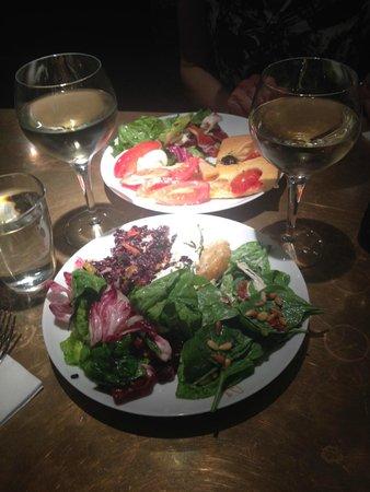 Salads at Princi