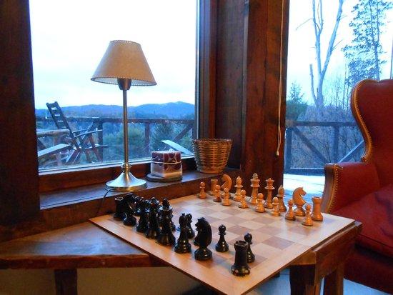 Naranjo en Flor Hosteria y Restaurant : Vista desde el hotel