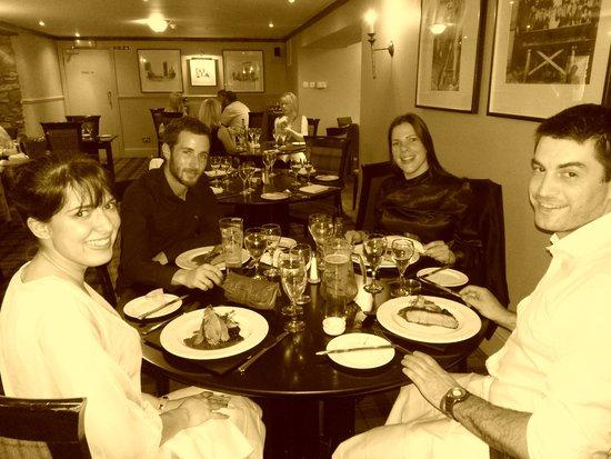 Loch Fyne Hotel & Spa: Dinner time