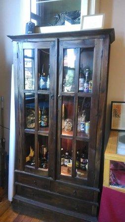 International Cryptozoology Museum: Cryptozoology related beer, wine, and spirit bottles.