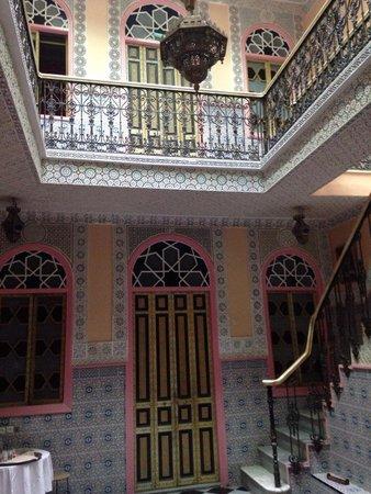 Hall entrada Dar Jameel