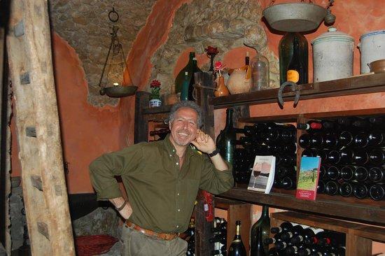 Nena al Borgo Castello: Our wonderful host, Carlo