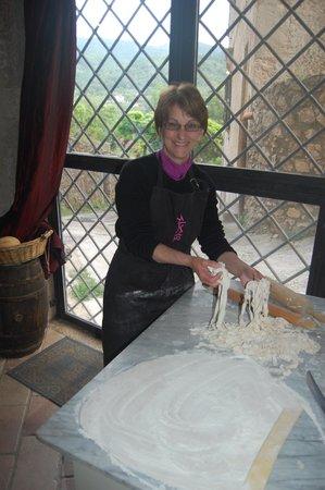 Nena al Borgo Castello: I got to make pasta!