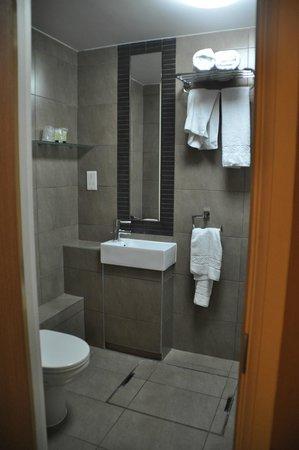 Eden Plaza Kensington: Baño habitación piso inferior