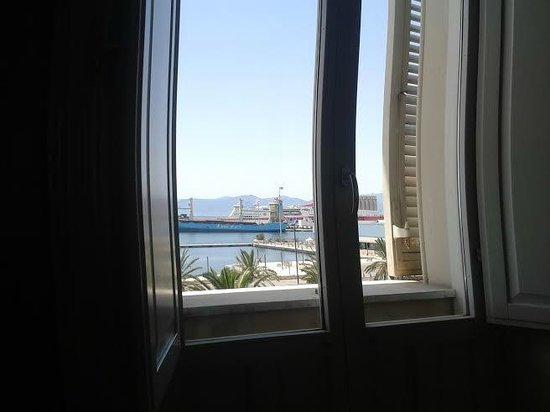 Hotel Miramare: Window view