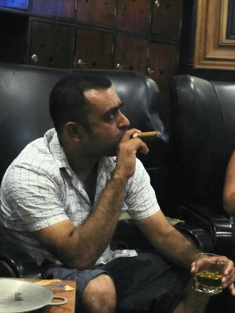 Havana Humidor Room: what a boss