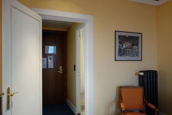 Hotel Splendid: 房間門口