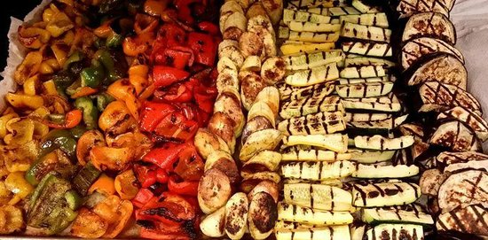 Luca's Ristorante: vegetables and plantains