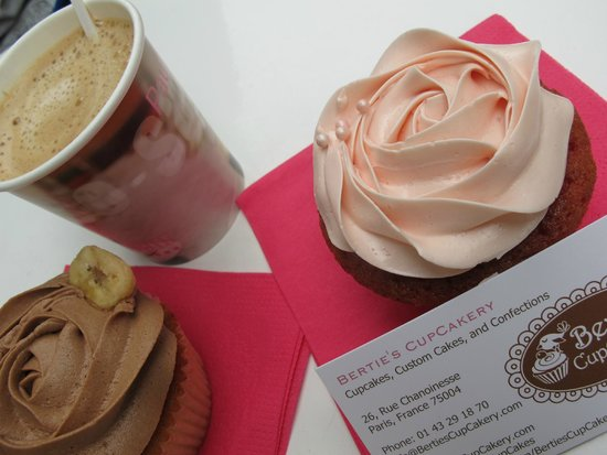 Bertie's CupCakery : Lovely cupcakes!