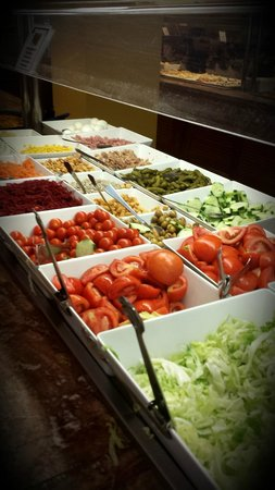Evenia Zoraida Park: Salads buffet